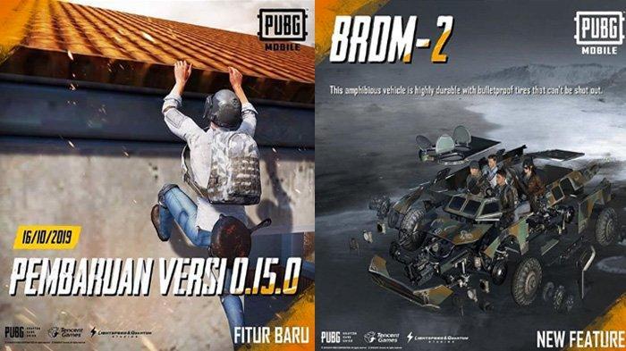 10 Fitur Terbaru Update PUBG Mobile Patch 0.15.0 Bisa Parkour, Kendaraan dan 2 Senjata Baru