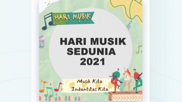10 Link Twibbon Hari Musik Sedunia 2021, Gambar World Music Day Cocok Dibagikan ke WA, IG, FB