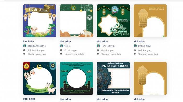 100 Link Bingkai Foto Ucapan Selamat Hari Raya Idul Adha 1442H, Bagikan ke Keluarga dan Sosial Media