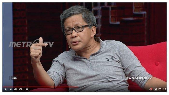 Jawaban Rocky Gerung Usai Ditantang DPR RI Debat Terbuka Mengenai Kontroversi Dana Haji