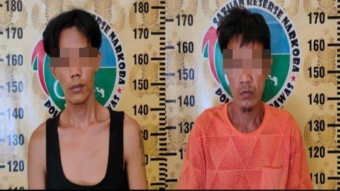 Pria di Musirawas Sembunyikan 36 Paket Sabu Di Bawah Kayu, Turut Ditangkap Pemasoknya