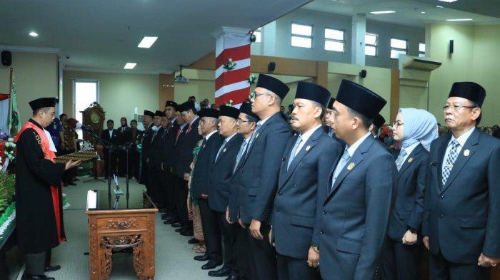 25 Anggota DPRD Prabumulih Periode 2019-2024 Resmi Dilantik, Ini Nama-namanya