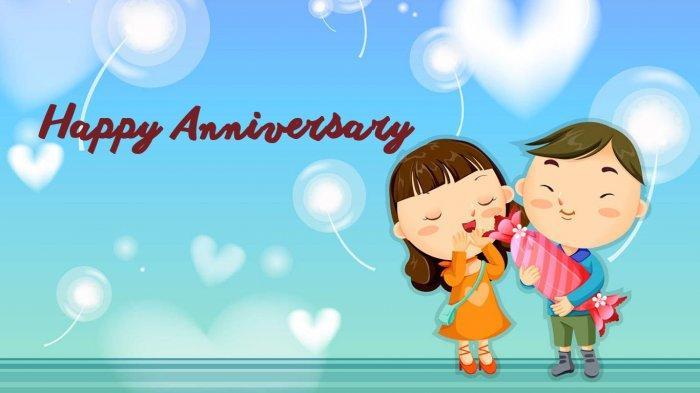 30 Kata Kata Happy Anniversary Romantis Buat Pacar Istri Atau Suami Tercinta Tribun Sumsel