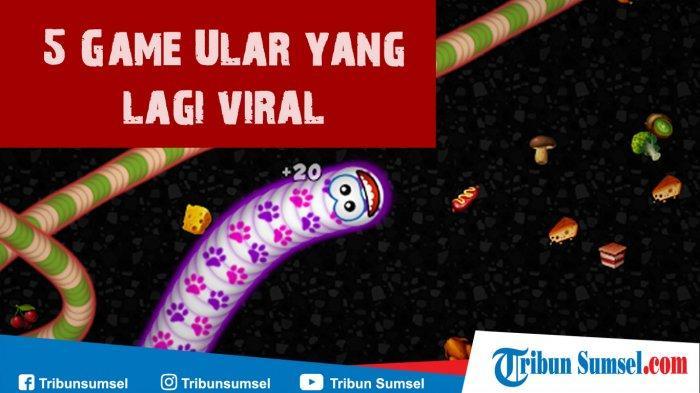 5 Game Ular (Cacing) Online/Offline yang Lagi Viral & Hits 2020 di Android, Kamu Wajib Coba
