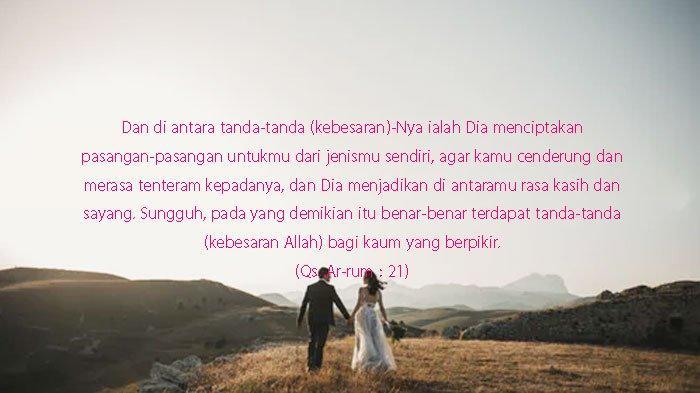 50 Ucapan Dan Doa Selamat Menikah Selamat Menempuh Hidup Baru Islami Berbahasa Arab Dan Latin Tribun Sumsel