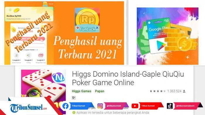 6 Aplikasi Game Penghasil Uang Terbaik 2021 Langsung Ke Dana, Ada Hago, Higgs Domino Islan