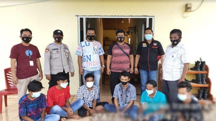 6 Pelaku Pengeroyokan di Lempuing OKI Ditangkap Polisi, Motif Gegara Korban Belum Bayar Hutang