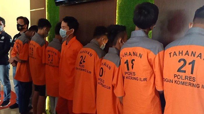8 Pelaku Pelemparan Batu di Tol Kayuagung-Palembang Ditangkap, Ternyata Motifnya Sepele