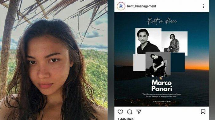 Adik kandung Angela Gilsha, Marco Panari meninggal dunia