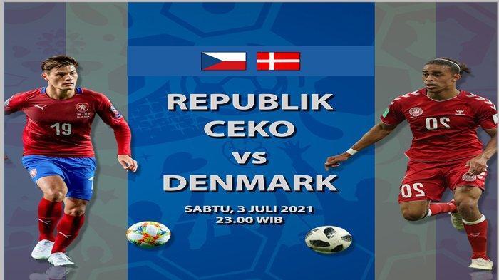Adu Statistik dan Head to Head Ceko vs Denmark, Tim Kuda Hitam dengan Performa Berimbang