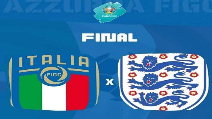 Final Euro 2020 Italia vs Inggris, Berikut Statistik dan Keunggulan Kedua Negara