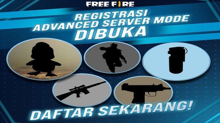 LINK Download Advance FF (Free Fire) Terbaru 2021 dan Kode Aktivasi Advance Server FF Saya