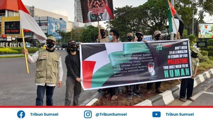 Suarakan Dukungan untuk Palestina ABI Sumsel Bagikan 1.000 Masker