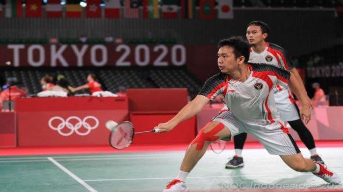 Rekor Pertemuan (Head to Head) Ahsan/Hendra Vs Lee/Wang, Semifinal Bulutangkis Ganda Putra Olimpiade