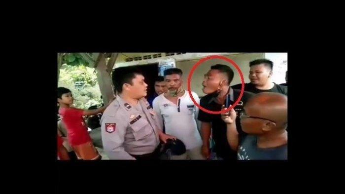 Sosok Aipda Ringkon Manik, Anggota Polisi Dicaci Maki Preman Positif Narkoba di Tanjung Morawa