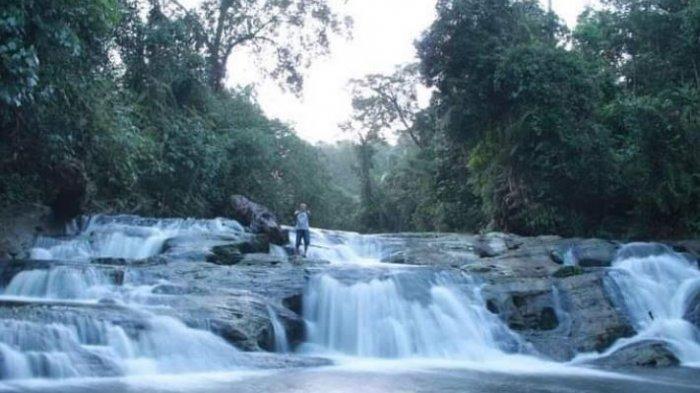 Seperti Lukisan, Nikmati Keindahan Air Terjun Telun 7 di Desa Noman Muratara, Ini Rute ke Sana