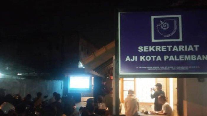 Layar Tancap Film the EndGame di AJI Palembang, Penonton Berhasil Dibuat 'Marah'