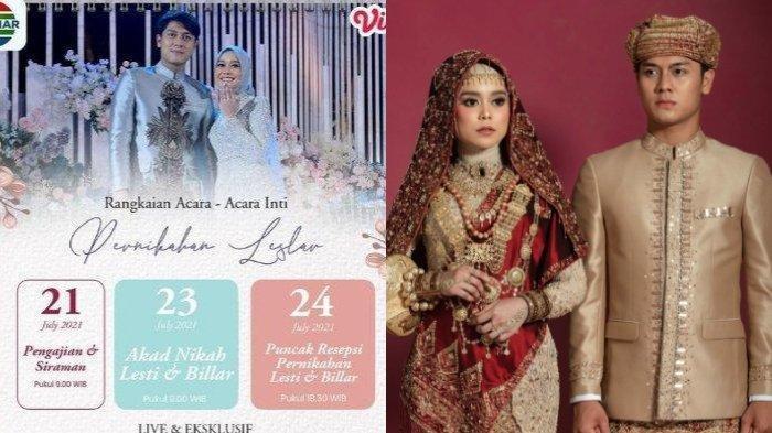 Nasib Rencana Pernikahan Rizky Billar-Lesti Kejora setelah PPKM Diperpanjang, Harusnya Besok Akad