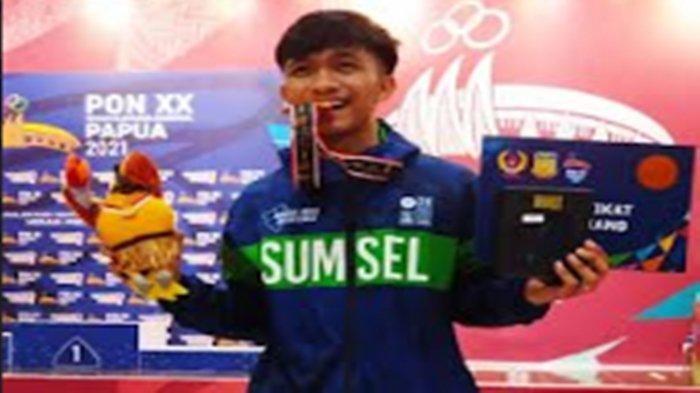 Aldo Sumbang Medali Perunggu Untuk Kontingen Sumsel di PON Papua Dari Cabor Anggar