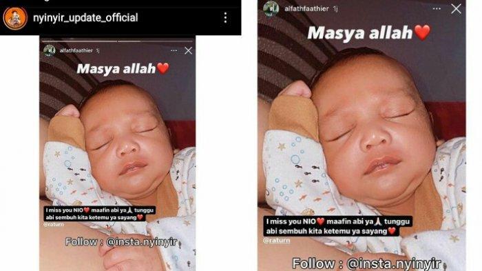 Alfath Fathier ngaku rindu anaknya dengan Ratu Rizky Nabila
