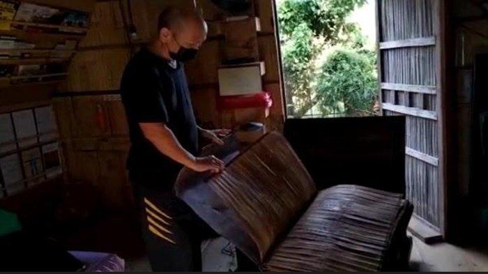Cerita Marwani Udjang, Warga PALI Pemilik Alquran Daun Lontar Ditulis Tangan, Peninggalan Abad 12