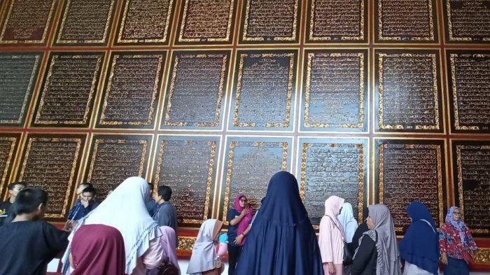 Tambah Wawasan, Isi Liburan Bermanfaat diBayt Al Quran Al Akbar Gandus Palembang
