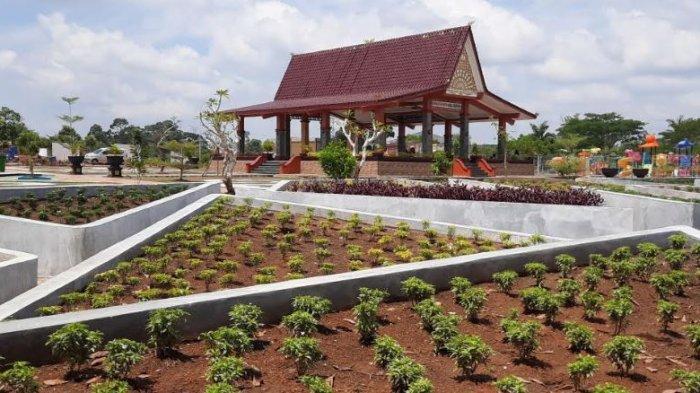 Melihat Alun-alun Taman Beregam Musirawas, Makin Cantik dengan Tambahan Beragam Fasilitas
