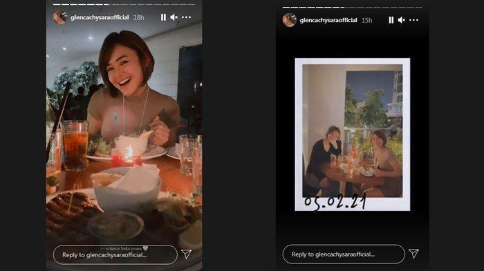 Amanda Manopo buka puasa bareng Glenca Chysara