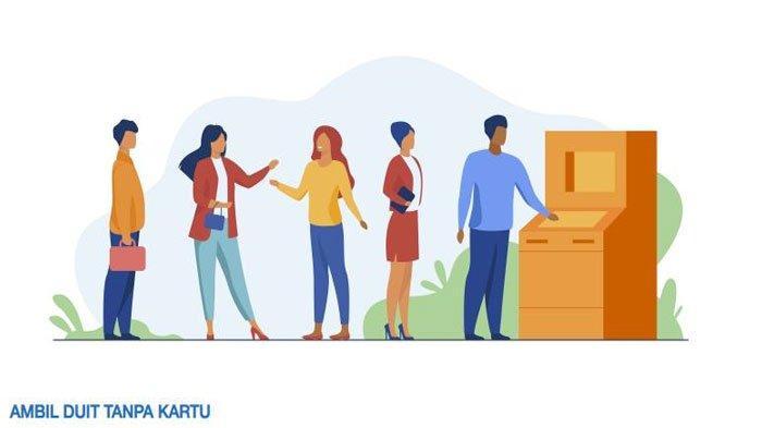 Cara Mudah Ambil Duit Tanpa Kartu di ATM BRI dan ATM Bersama, Berikut Langkah-langkahnya