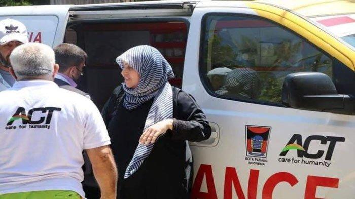 Foto Ambulans Berlogo Pemkot Padang Bantu Warga Palestina Viral, Ini Tanggapan Gubernur Sumbar