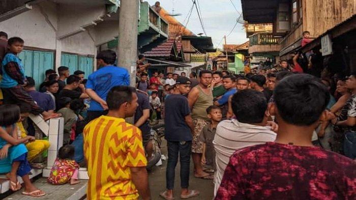 Rampas HP di Ulu Rawas Muratara, Dua Pria Diamuk Massa, Tak Bisa Kabur Kunci Motor Dibuang Korban
