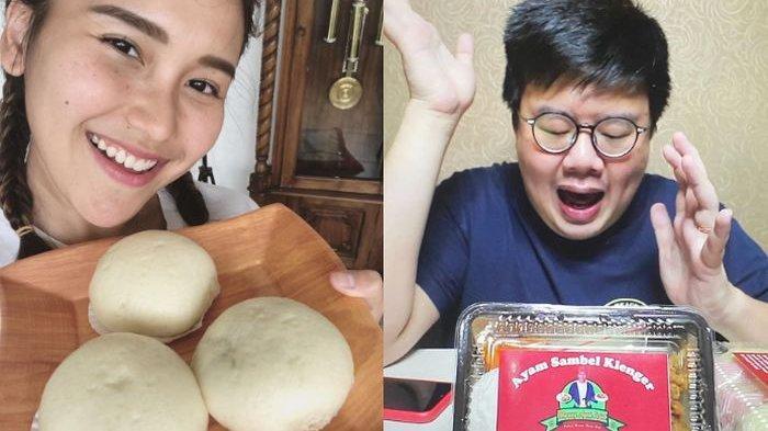 Anak kuliner mereview bakpao viral buatan Ayu Ting Ting