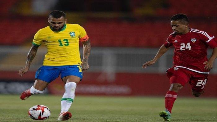 Dani Alves Jadi Pemain Tertua di Olimpiade Tokyo 2020, Pelatih Brasil Ungkap Alasan Pemanggilannya