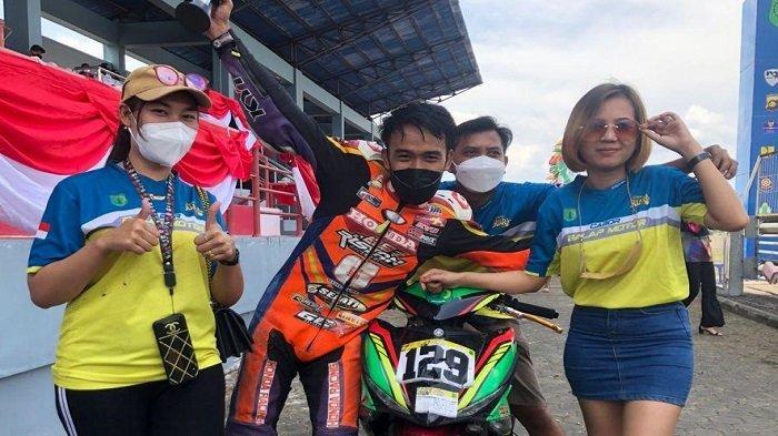 Motoprix Region A Putaran 3 Sumsel Piala Presiden 2021, Andri Yosa Catat Waktu Tercepat