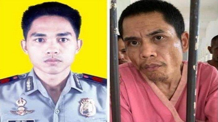 Anggota Brimob Mabes Polri Abrip Asep yang ditemukan masih hidup di sebuah rumah sakit jiwa setelah bencana tsunami Aceh, 17 tahun yang lalu.