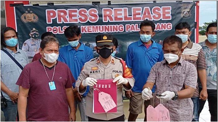 3 Pria di Palembang Transaksi Narkoba di Kuburan, Anggap Aman dari Intaian Petugas