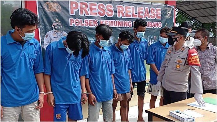 Kesal Diancam Mau Disantet , 9 Pemuda di Palembang Lakukan Pengeroyokan