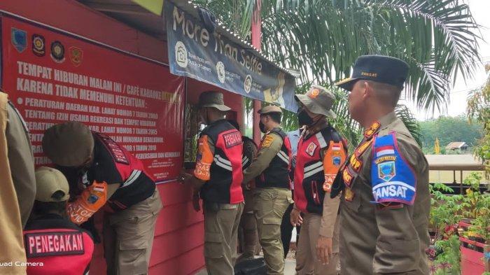Puluhan Kafe Ilegal di Lahat Ditutup Paksa, Ada 21 Kafe di Merapi Timur