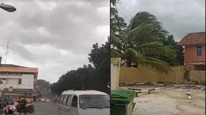 Angin Kencang Terjadi di Palembang, Ini Rincian Wilayah di Sumsel Berpotensi Terjadi Cuaca Buruk
