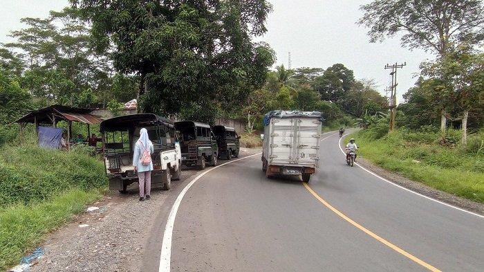 Penyekatan Ketat di Lubuklinggau, Angkot Perbatasan Sumsel-Bengkulu Merana