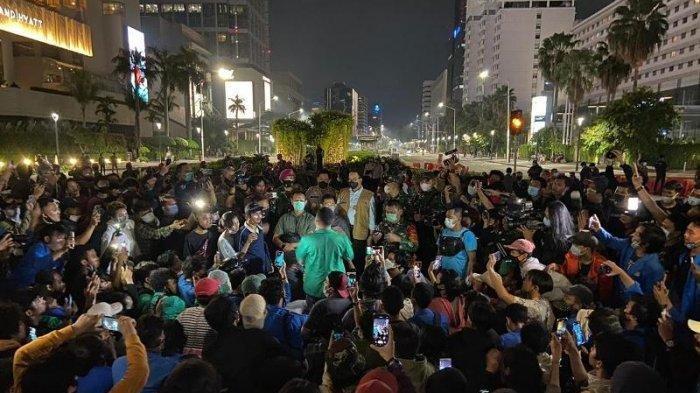 5 Fakta Mencekam dibalik Demo UU Cipta Kerja di Jakarta