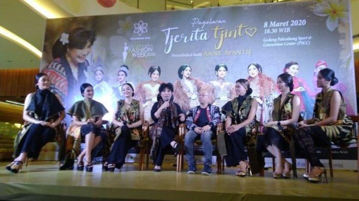 Malam Ini Anne Avantie Ajak 6 Putri Indonesia Tampil di Acara Palembang Fashion Week (PFW) 2020