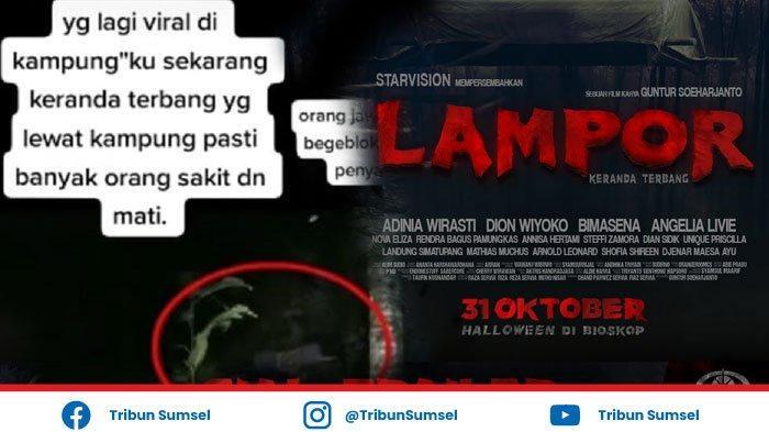 Apa itu Lampor Keranda Terbang yang Viral di Tiktok, Pernah Dibuat Film Horor