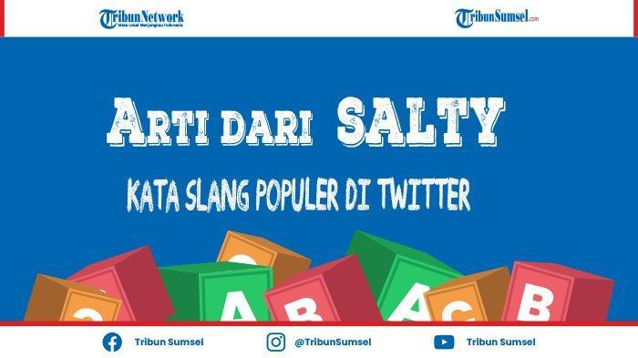 Arti Kata Salty, yang Populer di Twitter dan Waktu Penggunaannya
