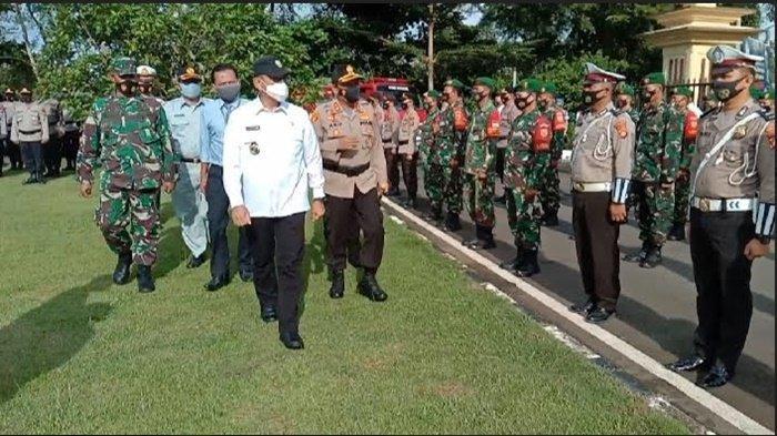 144 Personel Polres OKU Siap Amankan Perayaan Lebaran Idul Fitri 1442 H