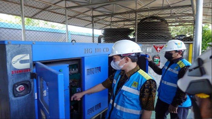 Apel Siaga Idul Fitri 1442 H memastikan sistem kelistrikan personel peralatan semua siap.