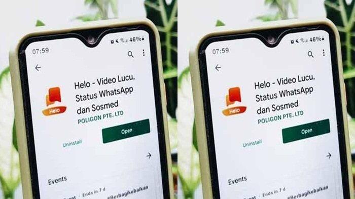 Download Helo Aplikasi Penghasil Uang Terfavorit 2021, Cara Cepat Dapat Rp 62.000 Transfer Dana