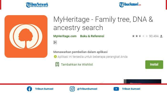 Aplikasi Buat Foto Jadi Bergerak Sendiri, Cara Gunakan Aplikasi MyHeritage