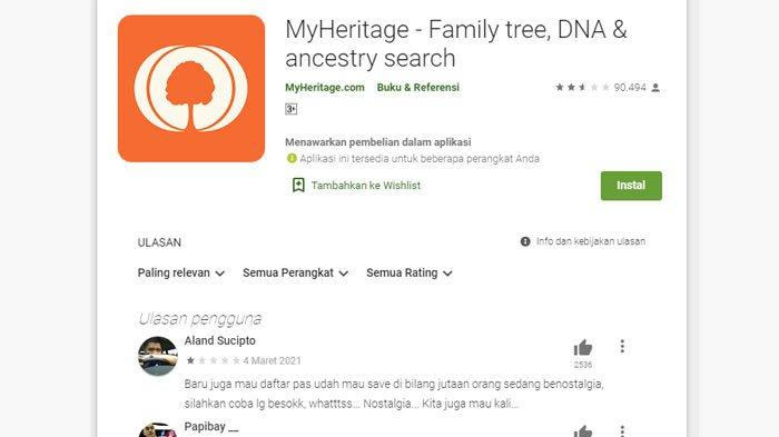 Error Tak Bisa Login MyHeritage?, Begini Cara Membuat Foto Orang Hidup Pakai Aplikasi MyHeritage