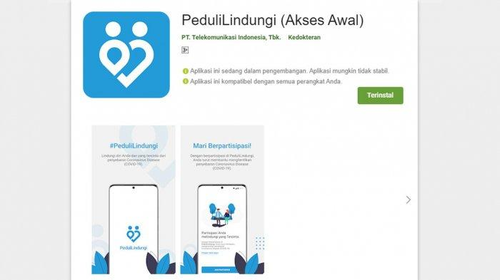 Ini Kota di Luar Jawa Bali Diuji Coba Gunakan Aplikasi PeduliLindungi untuk Masuk Ruang Publik